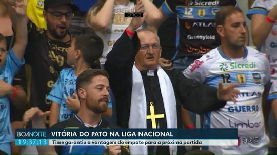 Vitória do Pato nas quartas de final da Liga Nacional de Futsal
