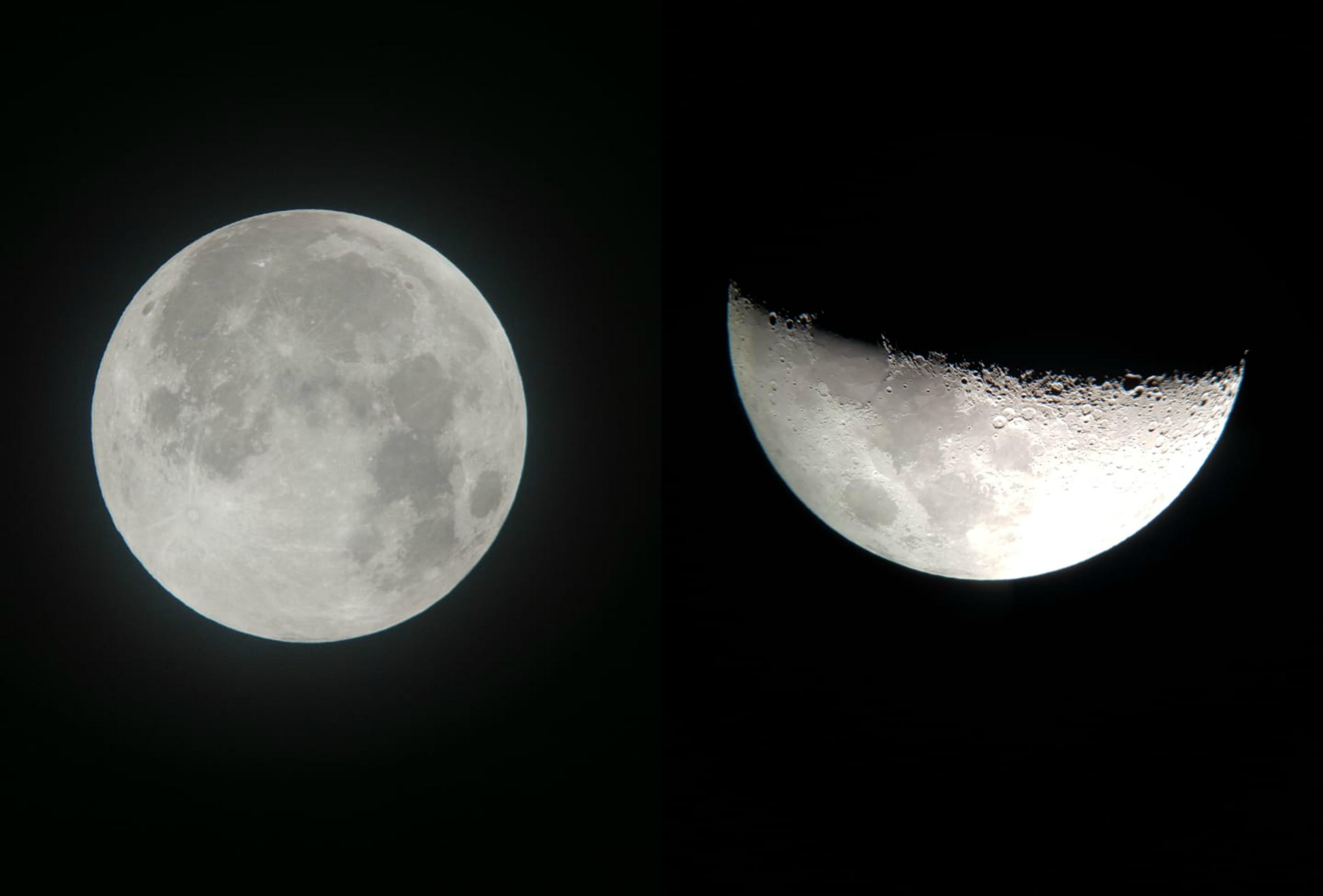 Live transmite alinhamento da Lua com Júpiter e Saturno em São Luís: 'Conversa com os planetas'