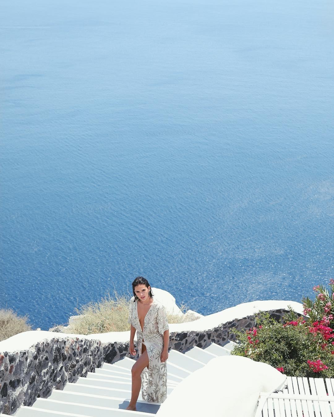 Bruna Marquezine curtiu as férias na Grécia (Foto: Reprodução/ Instagram)