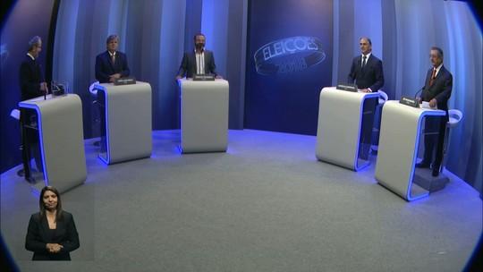 Candidatos ao Governo da Paraíba participam de debate nas TVs Cabo Branco e Paraíba