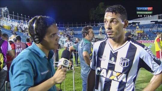 """""""A gente sabia que precisava da vitória em casa"""", diz Roberto após empate sem gols com Boa Esporte"""