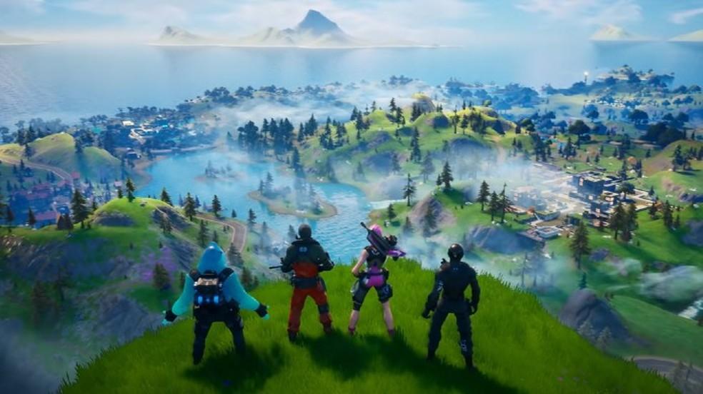 Em 2020, Fortnite continua em seu Chapter 2, com mais de 350 milhões de jogadores ativos — Foto: Divulgação/Epic Games