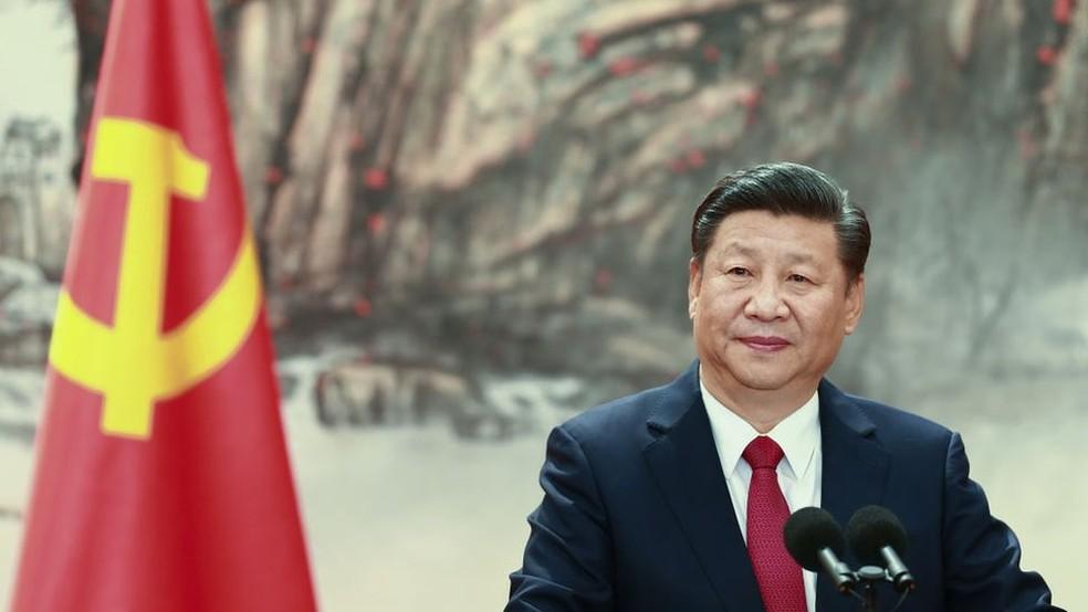Governo Xi Jinping defende freio no que considera 'expansão desordenada do capital' — Foto: Getty Images