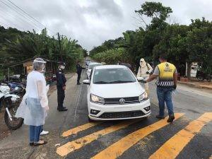 Coronavírus: barreira sanitária é instalada em uma das entradas de Bananeiras, PB
