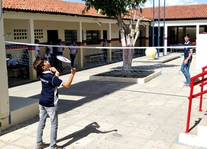 Solidão Badminton (Foto: Daniel Gomes)