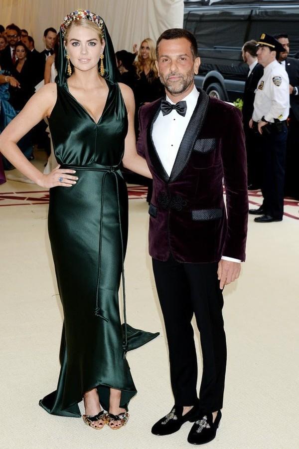 Kate Upton e Alexandre Birman (Foto: Divulgação)