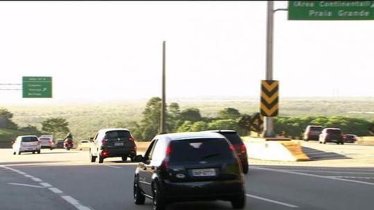 Confira como está o movimento das estradas na saída de São Paulo rumo ao litoral