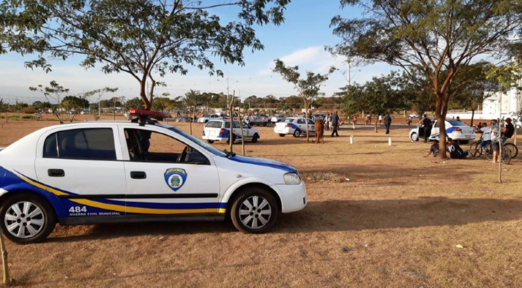 GCM flagra partidas de futebol no fim de semana em meio à pandemia da Covid-19 em Ribeirão Preto, SP