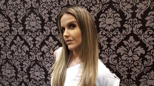 Mariana Ferrão muda o visual e brinca sobre semelhança com Deborah Secco