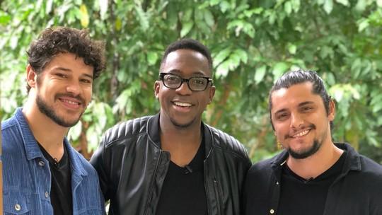 Bruno Gissoni, José Loreto e Mumuzinho ganham surpresa de Dia dos Pais