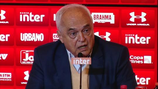 """Leco nega responsabilidade em fracasso de Ceni e diz ter tido coragem em contratar """"novato"""""""