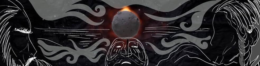 Esquimós tinham história de dominação confirmada por eclipse — Foto: Wagner Magalhães/G1