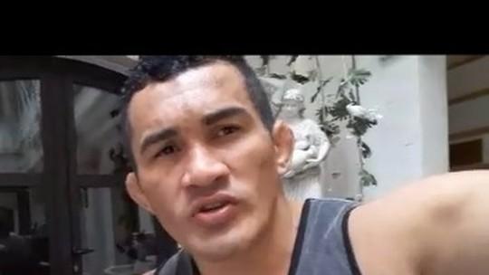Após derrota, Bodão agradece fãs em vídeo e cita dificuldades no UFC Roterdã
