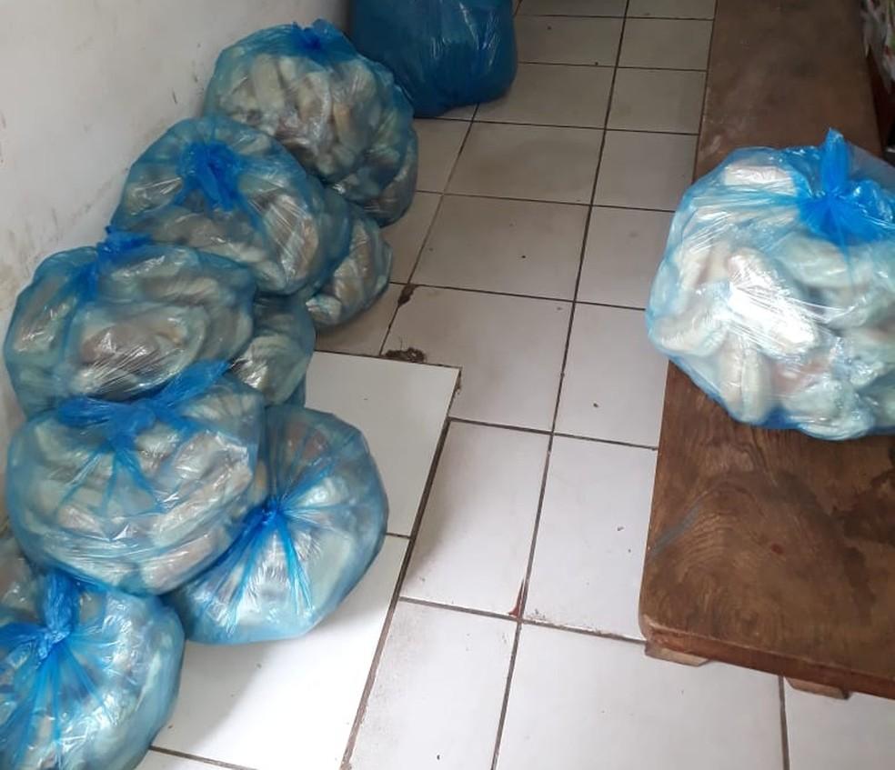 Greve de fome foi iniciada na segunda-feira (13) por detentos de seis presídios do estado (Foto: Divulgação/Sindapen)