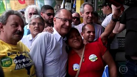 Alckmin diz que se eleito fará salário mínimo 'crescer acima da inflação'