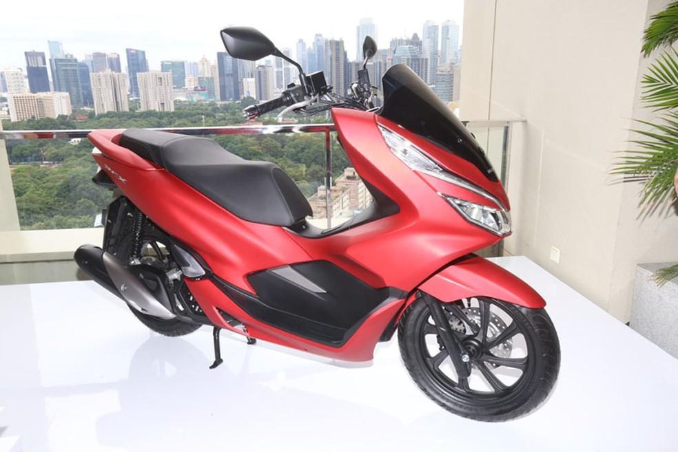 Honda PCX mudou seu visual (Foto: Honda/Divulgação)