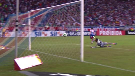 O gol de Bahia 1 x 0 Avaí pela 3ª rodada do Brasileirão 2019