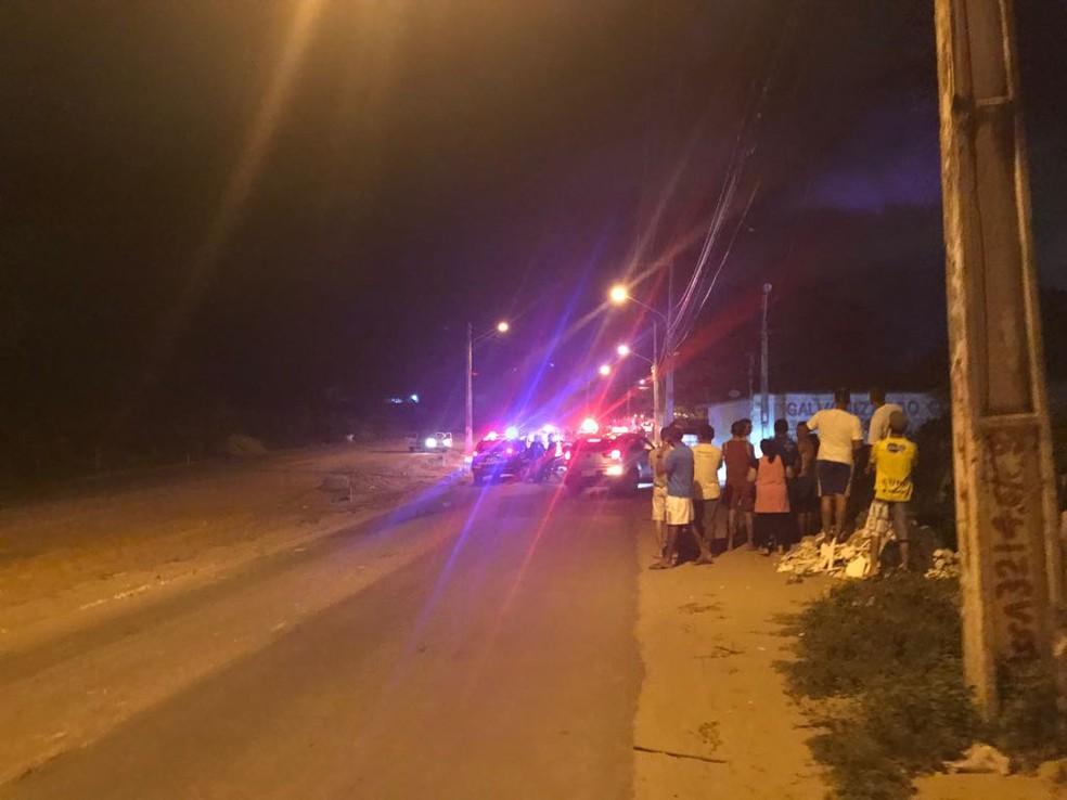 Bandido morre ao trocar tiros com a PM na Zona Norte de Natal (Foto: PM/Divulgação)