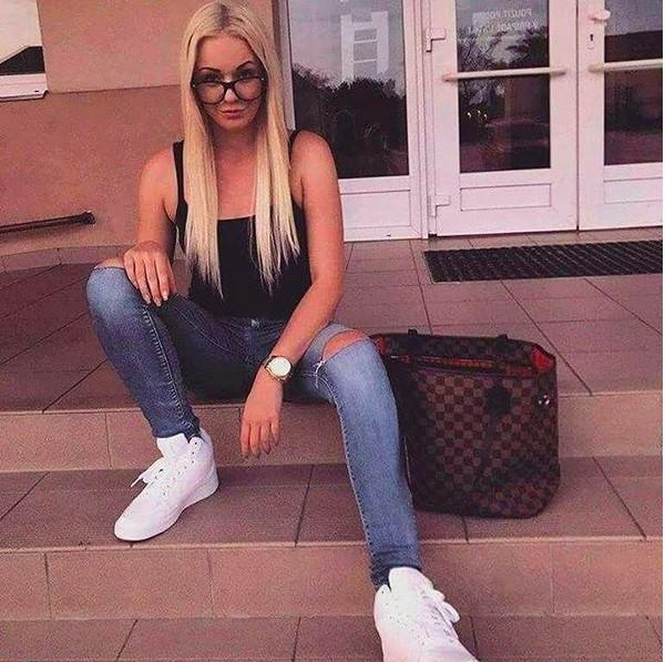 A modelo checa Tereza Hluskova (Foto: Instagram)