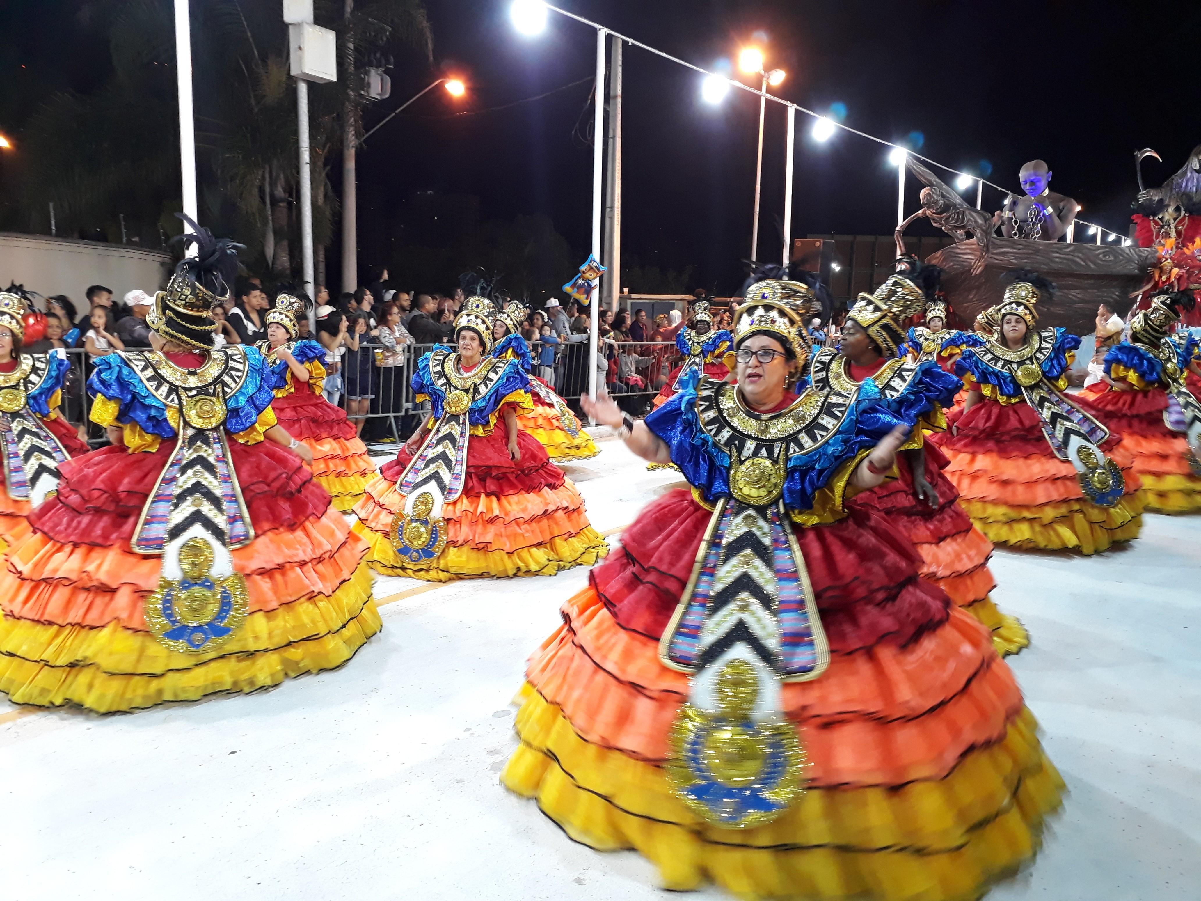 Vila Industrial é a campeã do carnaval de Mogi em 2020