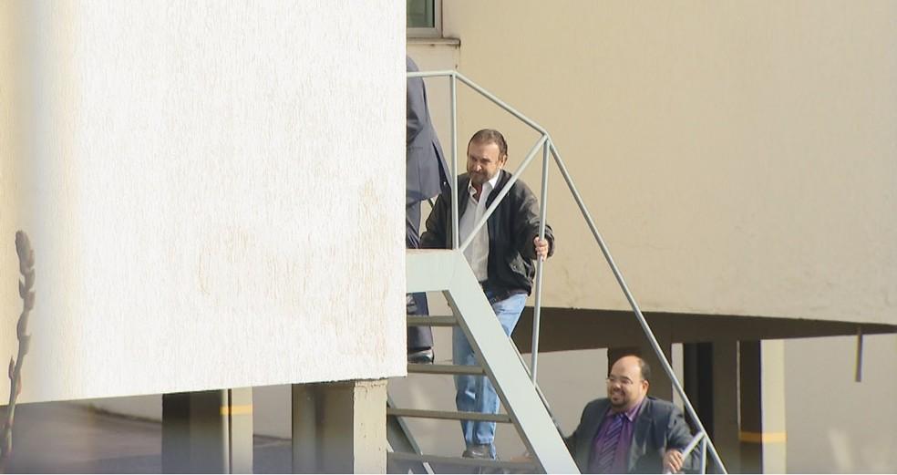 -  Empresário José Rizzo foi condenado a 37 anos e quatro meses de prisão em regime fechado em Nova Ponte  Foto: Reprodução/TV Integração