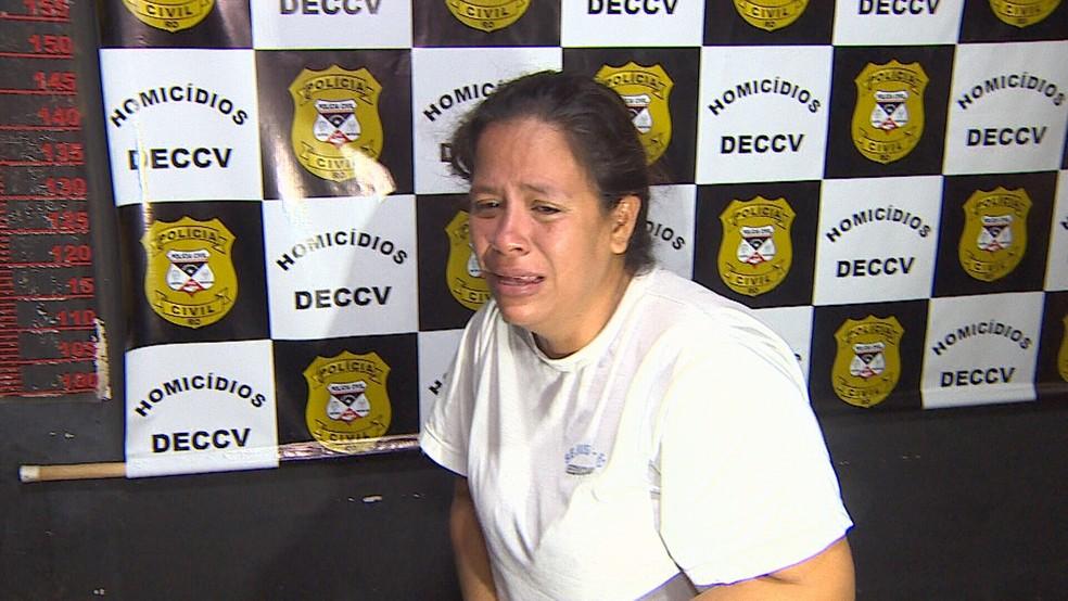 Caso Fabiana: Cátia Barros Rabelo foi indiciada pelo crime.  — Foto: Reprodução/Rede Amazônica