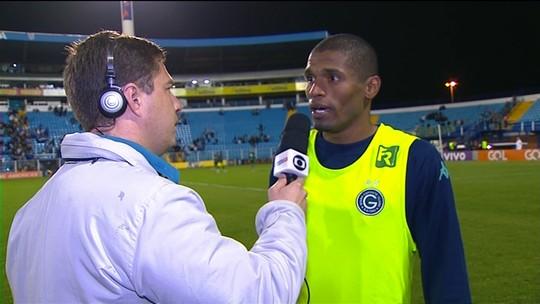 """Ygor alega infração no gol marcado por André Lima: """"Foi falta no Renan"""""""