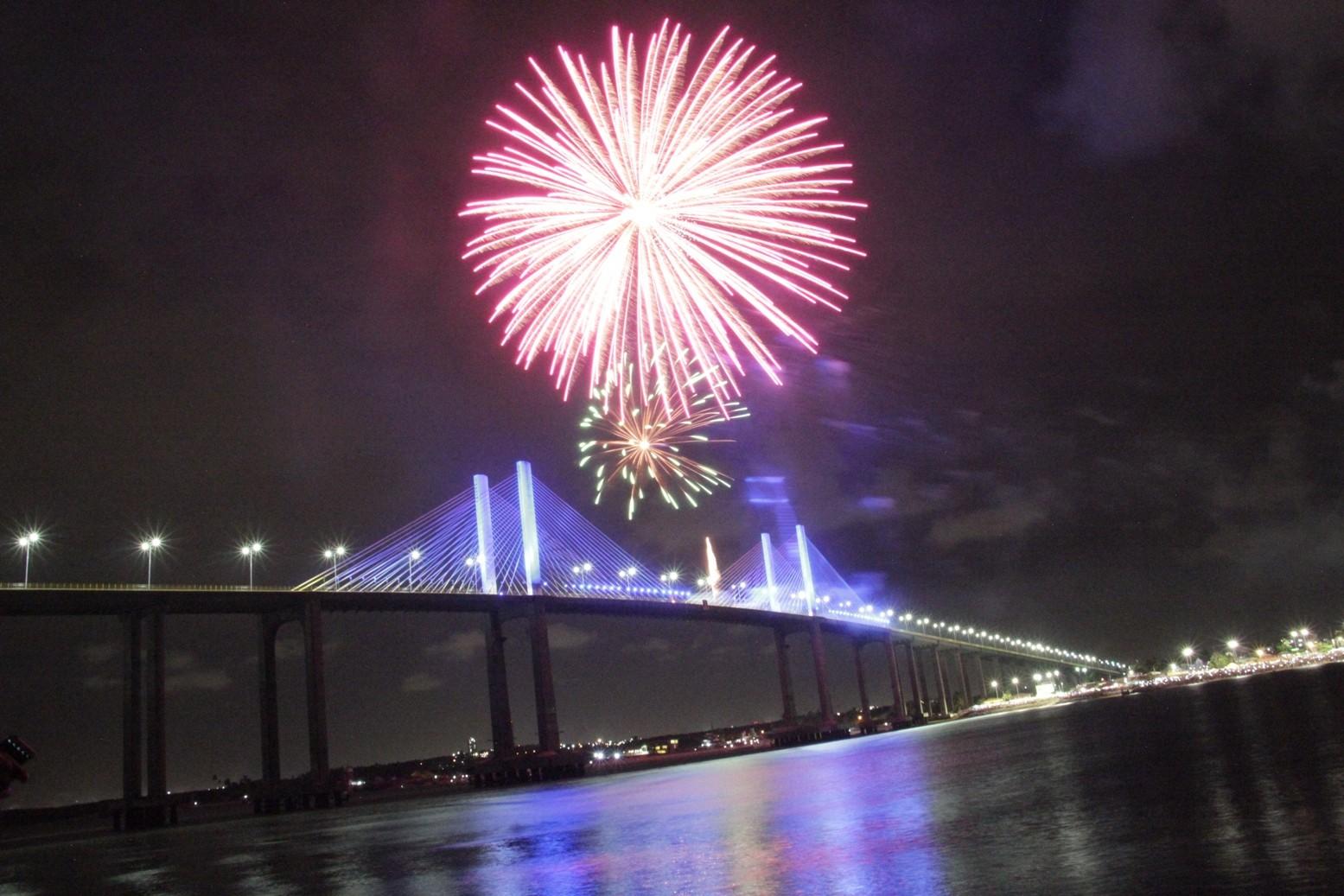 Redinha, Ponta Negra e Ponte Newton Navarro têm mudança no trânsito para réveillon em Natal