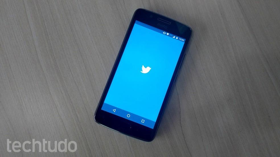 Twitter ficou para trás na concorrência dos mais baixados no Android e iOS, de acordo com levantamento do App Annie — Foto: Caio Bersot/TechTudo