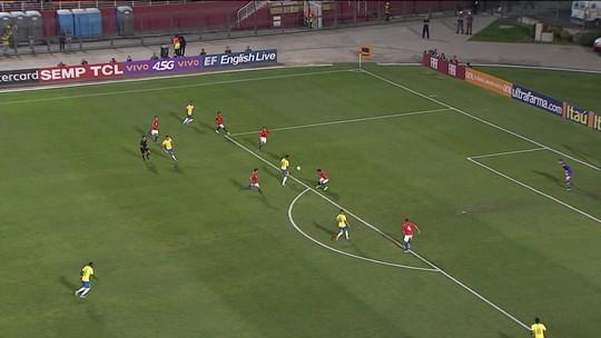 Com dois de Matheus Cunha e golaço de Anthony, Seleção Brasileira Sub-23 vence o Chile