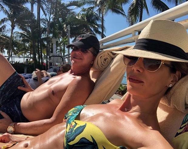 Boninho e Ana Furtado (Foto: Reprodução Instagram)