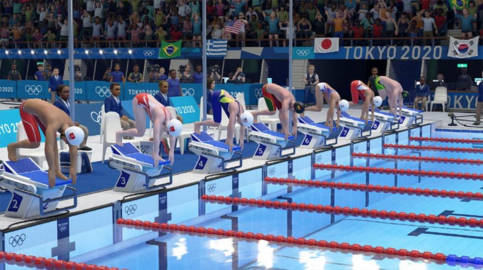 Além do jogo oficial das Olímpiadas, também é possível aproveitar jogos baseados em modalidades presentes na competição — Foto: Reprodução/Steam