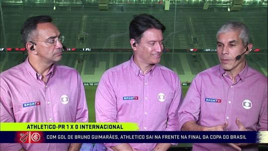 Comentaristas veem vitória justa do Athletico-PR e criticam postura do Internacional fora de casa