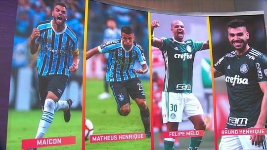 Quem é melhor? Renato Gaúcho bate Felipão, e Grêmio domina Palmeiras na escalação ideal do Seleção