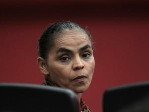 Marina Silva acompanha sessão do TSE sobre registro da Rede (Foto: Ueslei Marcelino/Reuters)