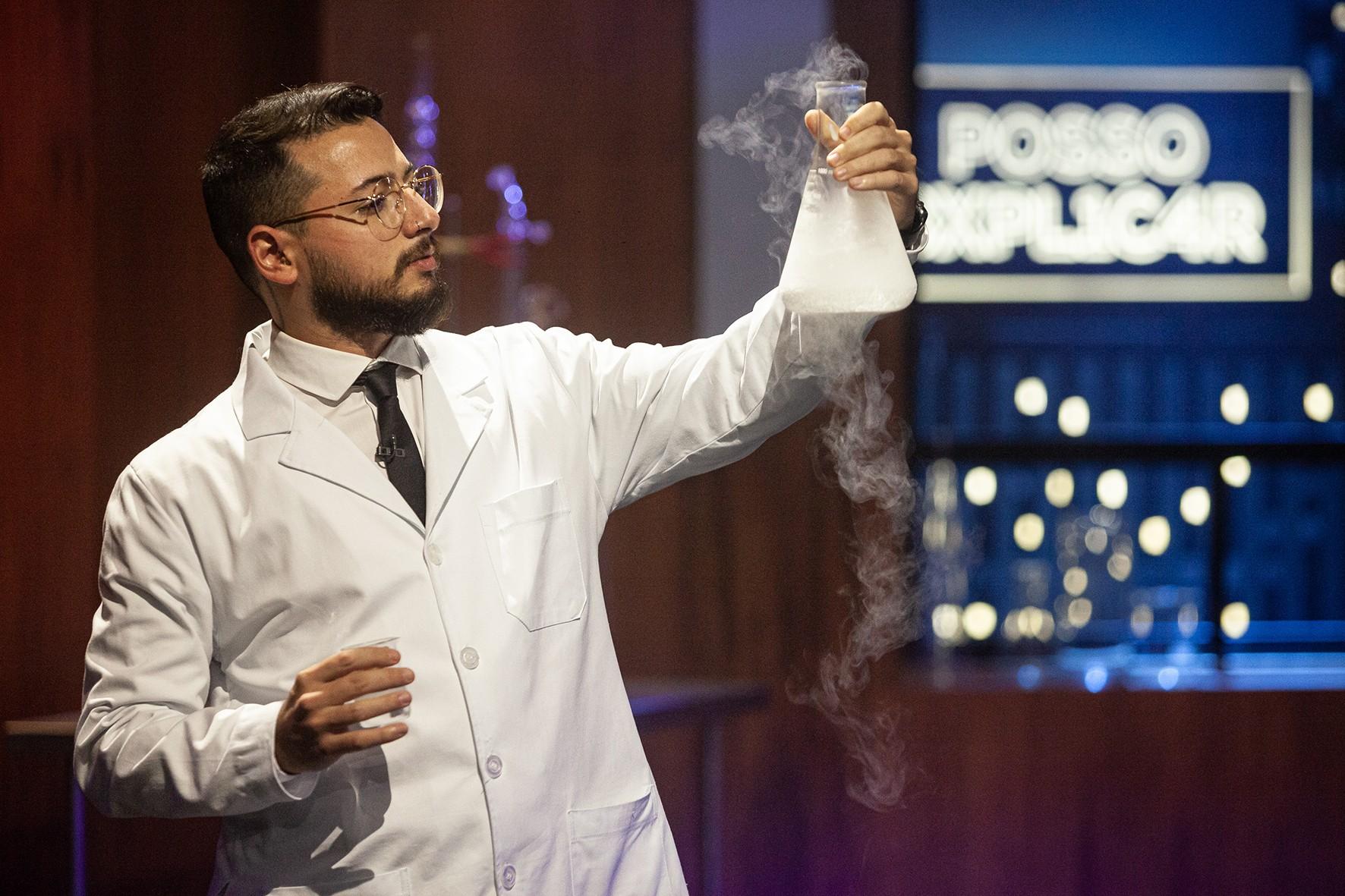 Ο Alan Rodrigues, χημικός από την εκπαίδευση, είναι υπεύθυνος για τις επιστημονικές ερμηνείες του προγράμματος (Εικόνα: Αποκάλυψη / National Geographic)