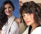 Vanessa Giácomo antes e depois de mudar o visual | Divulgação