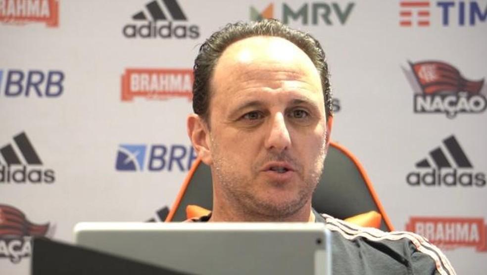 Rogério Ceni concede entrevista exclusiva ao EE — Foto: GE