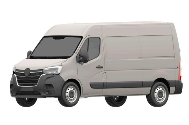 Desenhos da nova Renault Master foram registrados no INPI (Foto: Reprodução)