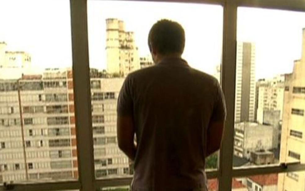 Raphael Reis deu entrevista ao Fantástico em 2011 e alegou que só tentava se proteger na briga — Foto: TV Globo/Reprodução