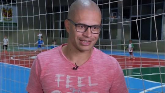 DNA de craque: filho de Alex segue trilha do pai e encanta no futsal