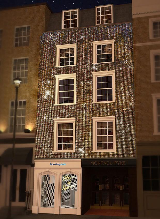 Hotel Coberto por Glitter (Foto: Divulgação)