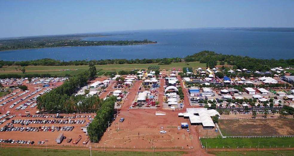 Agrotins é a maior feita do segmento no estado — Foto: Reprodução/TV Anhanguera
