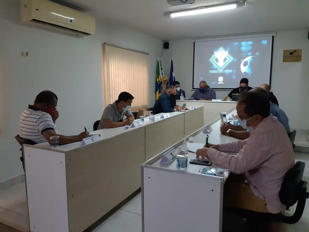 Arbitral FFP na pandemia — Foto: FFP