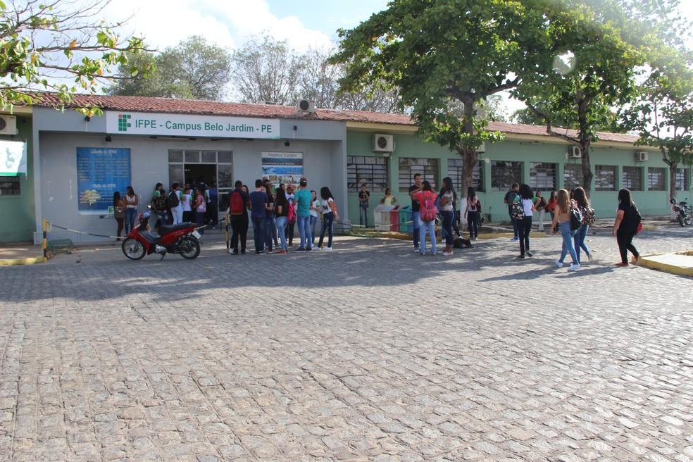 Campus IFPE Belo Jardim — Foto: Divulgação/Assessoria