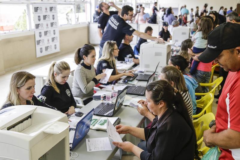 Mutirão da Cidadania vai oferecer serviços gratuitos ao lado do Terminal Fazendinha, em Curitiba