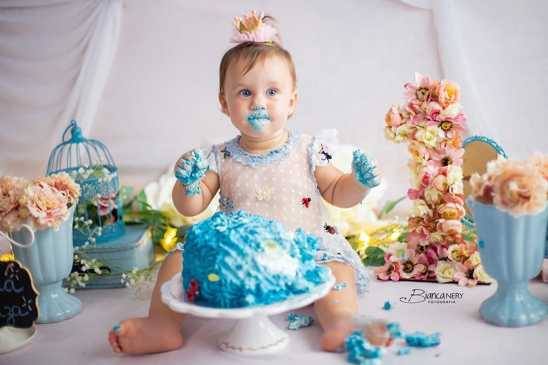 Maria Luiza filha de Cássio faz 1 ano (Foto: Reprodução Instagram)