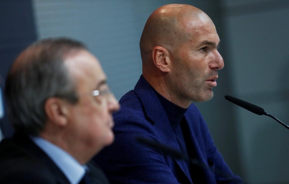 Zidane anunciou sua saída do Real Madrid nesta quinta-feira (Foto: Reuters)