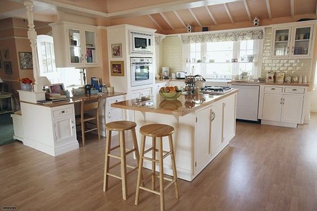 Cozinhas de filmes/séries: Desperate Housewives (Foto: Pinterest/Reprodução)