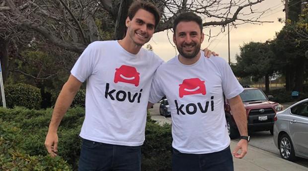 João Costa e Adhemar Milani são fundadores da startup Kovi.  (Foto: Divulgação)